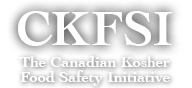 CANADIAN GOVERNMENT FUNDS CANADIAN KOSHER FOOD SAFETY INITIATIVE